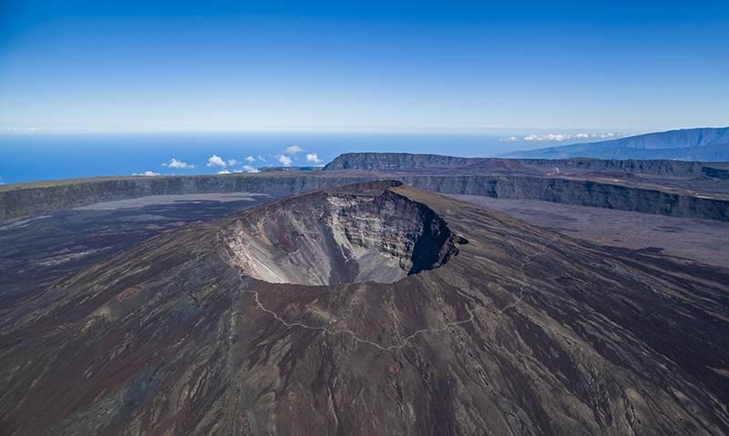 """Piton de La Fournaise"" vulcano, La Réunion"