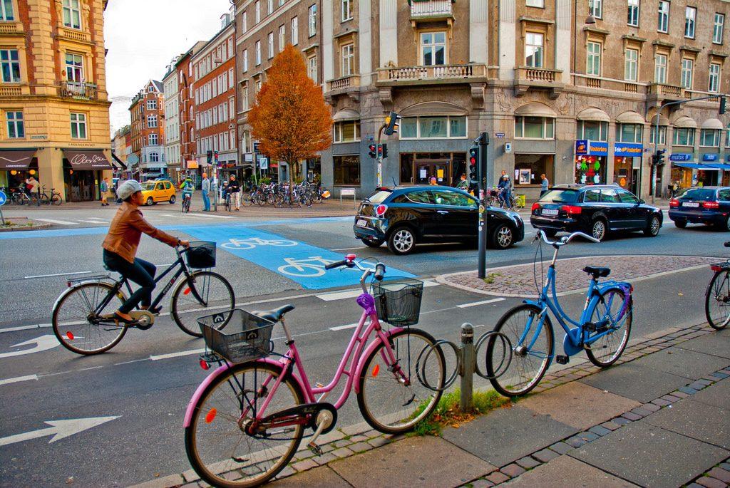 Copenaghen, capitale europea del traffico green
