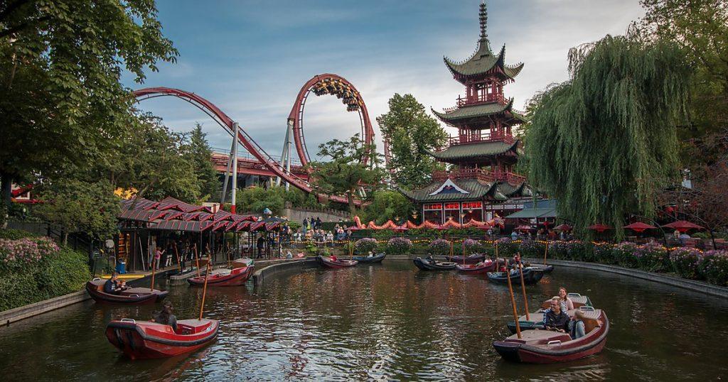 I Giardini di Tivoli, parco divertimenti nel cuore di Copenaghen