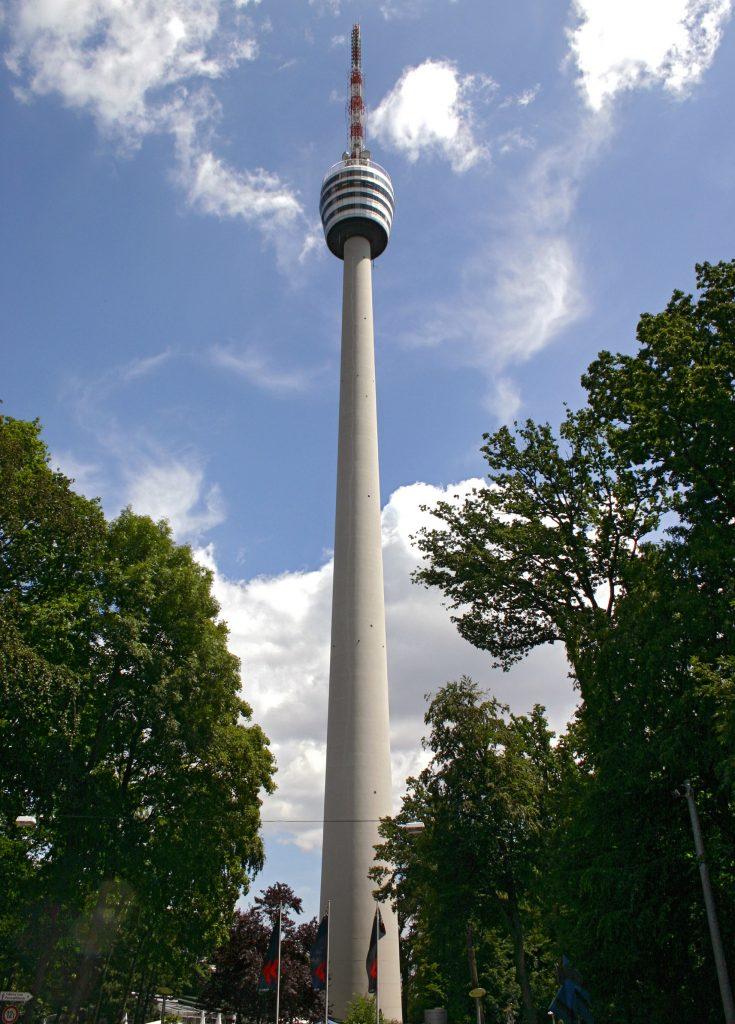 Fernsehturm, la torre della televisione