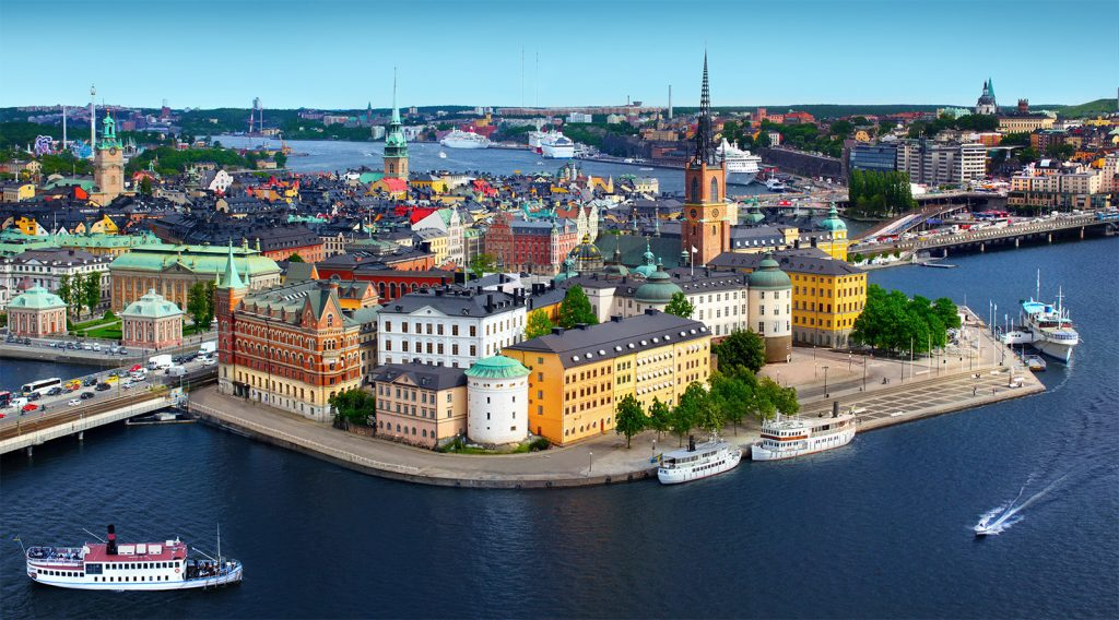Gamla Stan, historic center of Stockholm