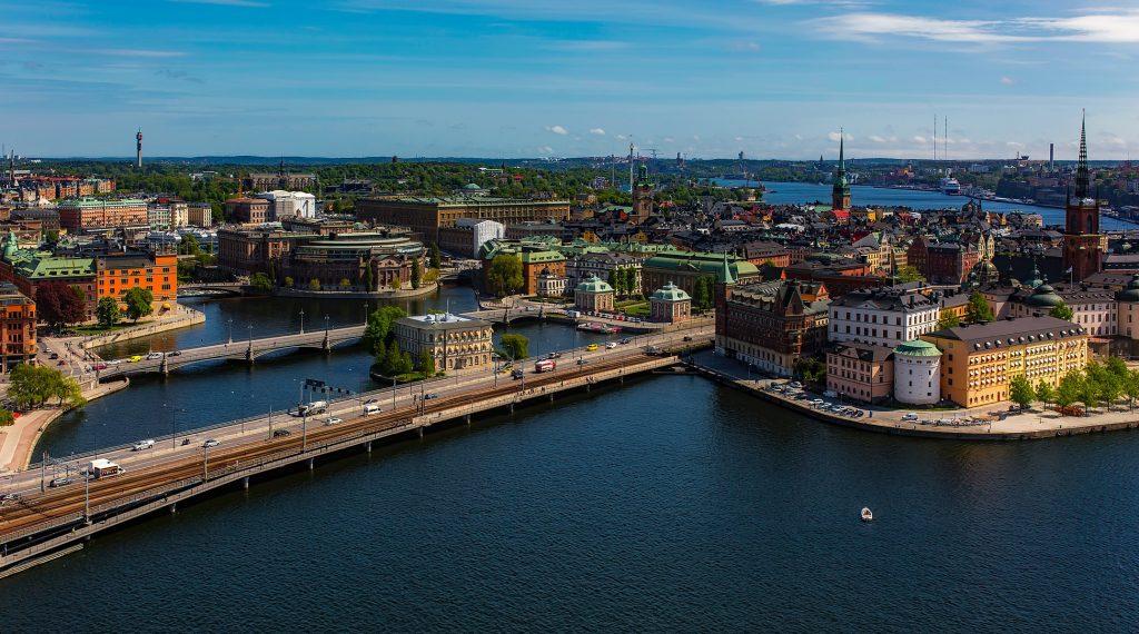 Panorama di Stoccolma, Svezia