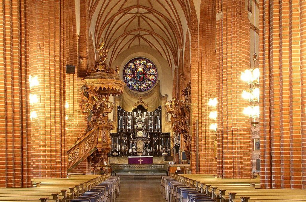 Interior of the Stockholm Cathedral
