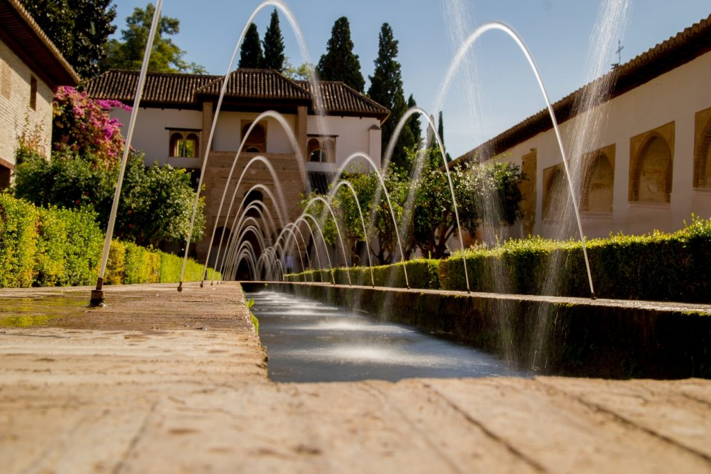 The fairy-tale gardens of Generalife, Granada