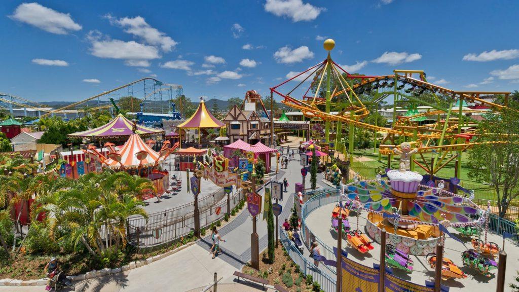Dreamworld, il parco divertimento più grande del continente