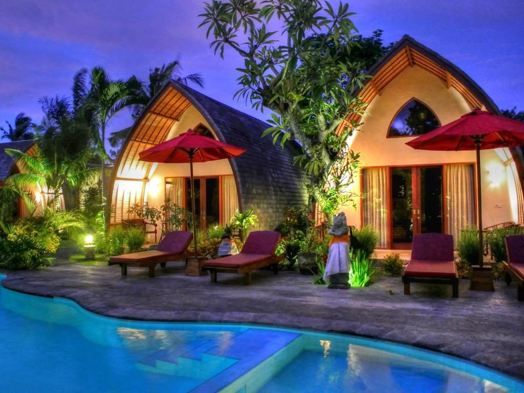 An example of resort on the island of Bali