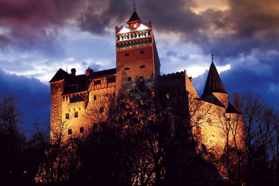 Bran Castle, home of the terrifying Count Dracula