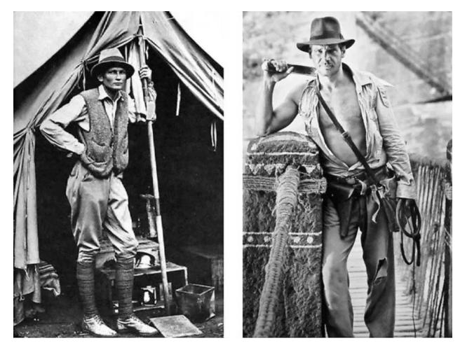Hiram Bingham and Indiana Jones