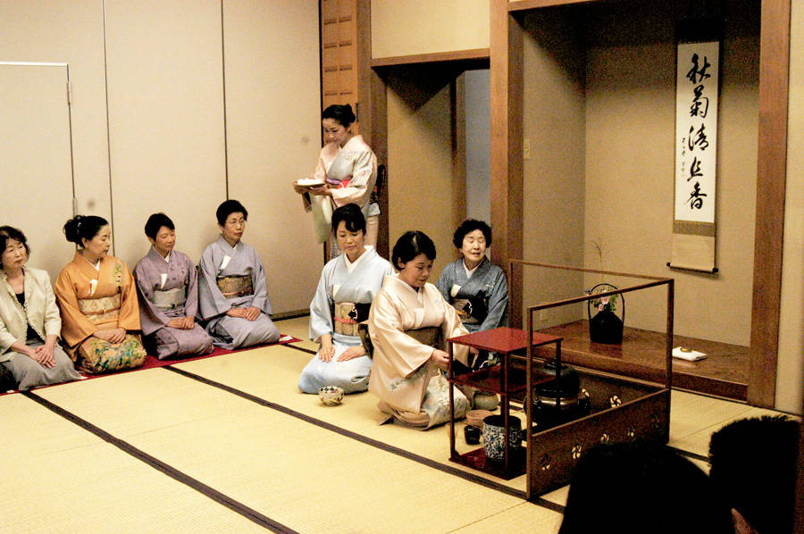 Cha no you, the tea ceremony