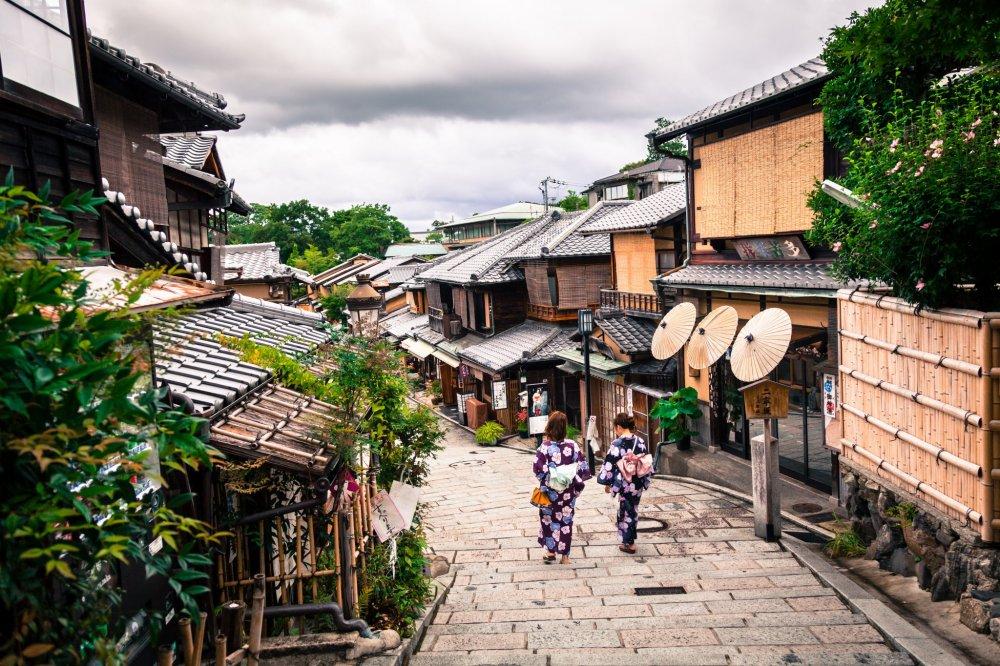 Higashiyama, geisha district - Kyoto