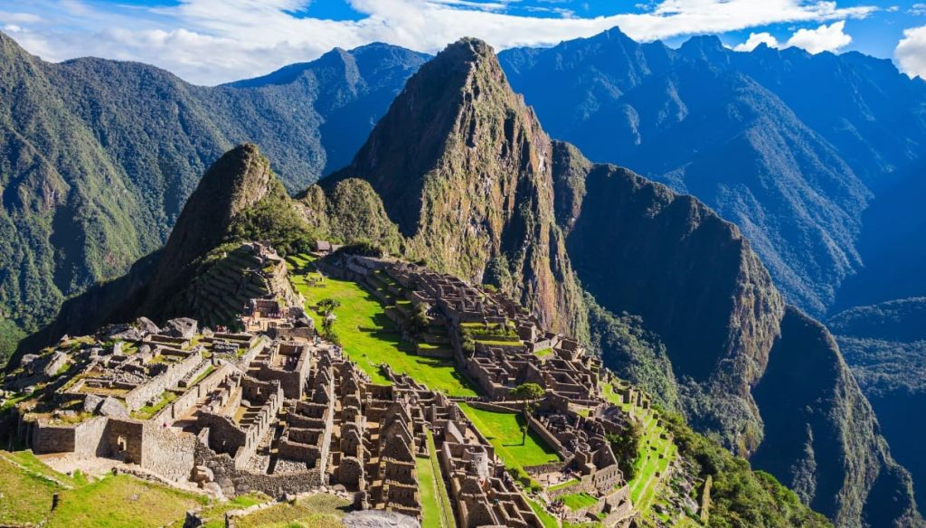 Machu Picchu, one of the seven Wonders of the World