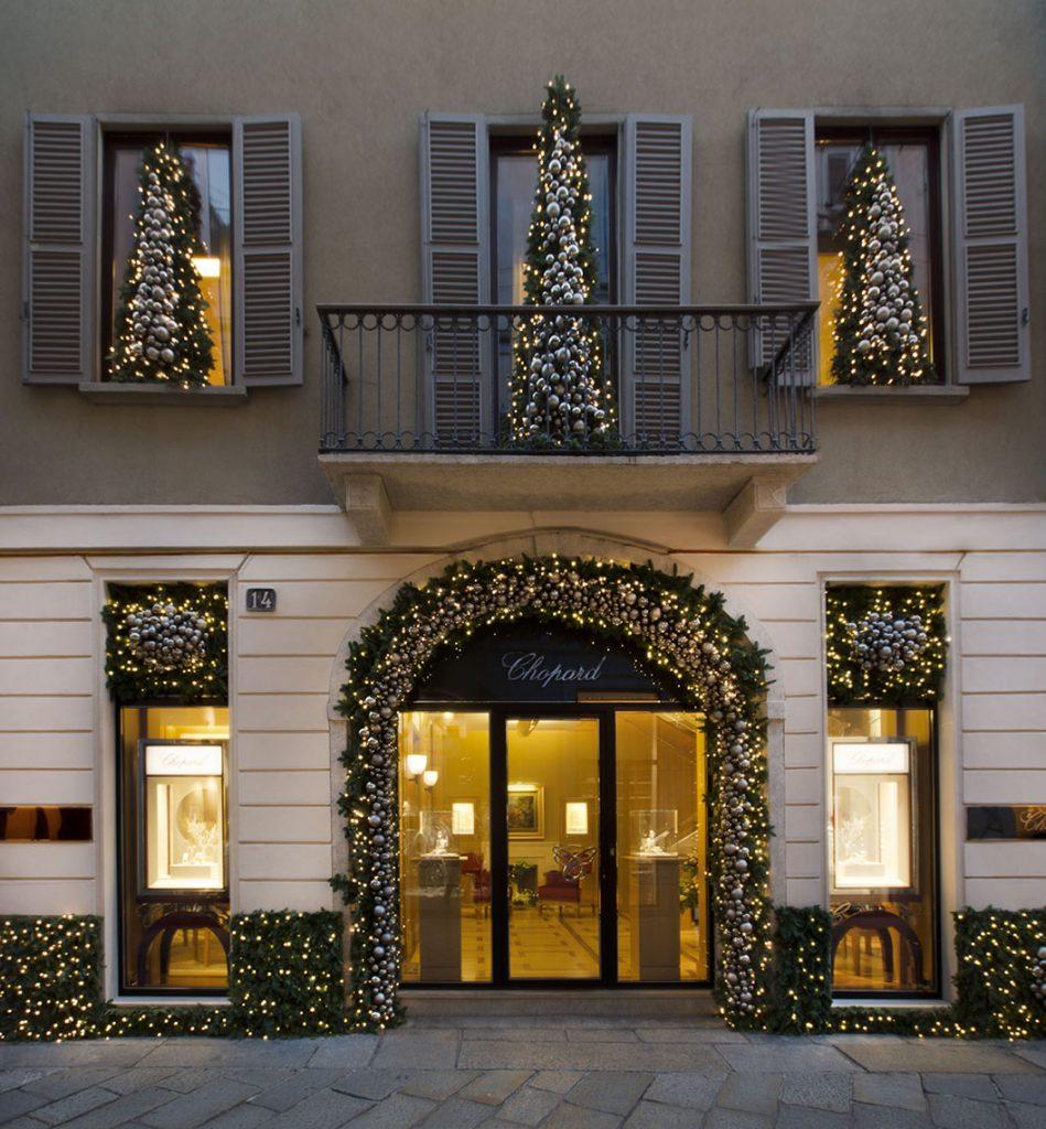 Christmas installation in Milan