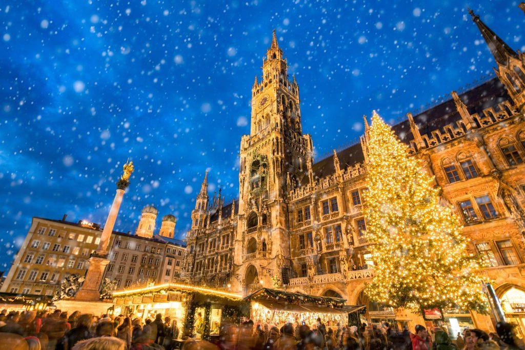 Monaco di Baviera - una città che in occasione del Natale si trasforma in un caleidoscopio di luci
