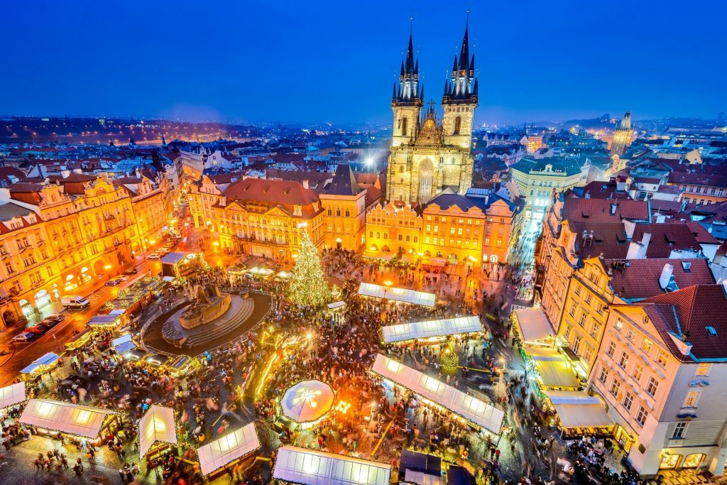 Prague, one of the most popular destinations in Eastern Europe