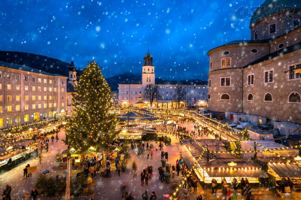 Salisburgo, the home to the Stille Nacht
