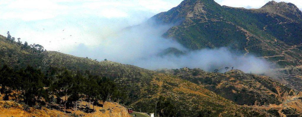 Catena montuosa dell'Eritrea