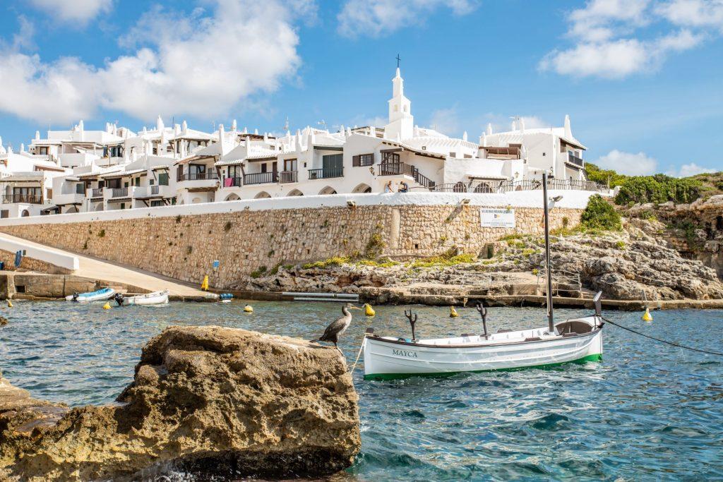 Binibèquer , incantevole borgo locale di Minorca