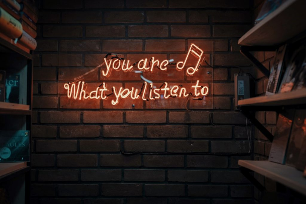 You are what you liste to